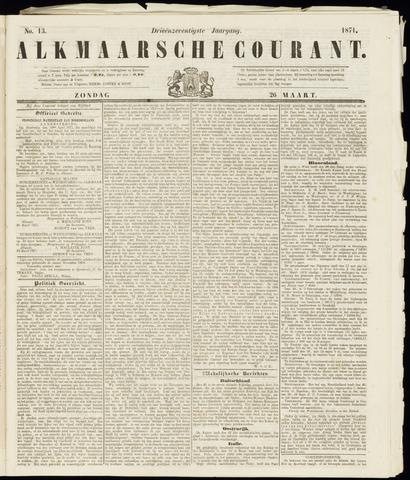 Alkmaarsche Courant 1871-03-26