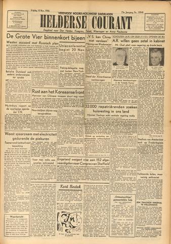 Heldersche Courant 1950-11-10