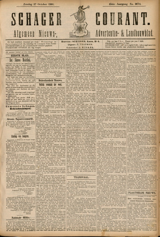 Schager Courant 1901-10-27