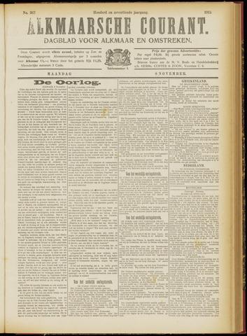 Alkmaarsche Courant 1915-11-08