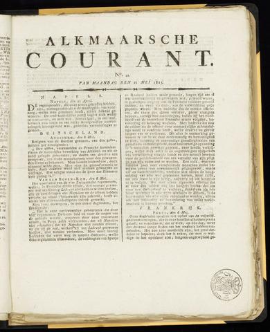 Alkmaarsche Courant 1815-05-22