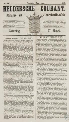 Heldersche Courant 1869-03-27