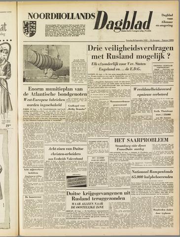 Noordhollands Dagblad : dagblad voor Alkmaar en omgeving 1953-09-26