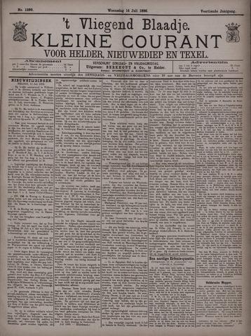 Vliegend blaadje : nieuws- en advertentiebode voor Den Helder 1886-07-14