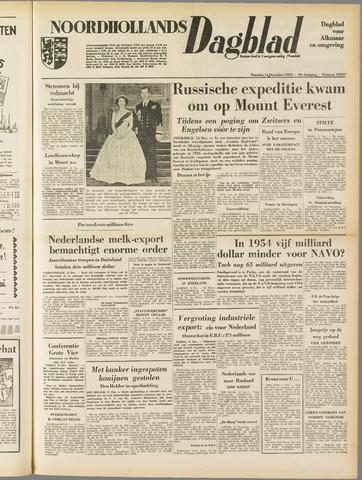 Noordhollands Dagblad : dagblad voor Alkmaar en omgeving 1953-12-14