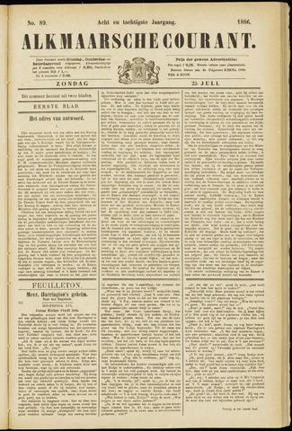 Alkmaarsche Courant 1886-07-25