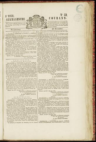 Alkmaarsche Courant 1851-12-29