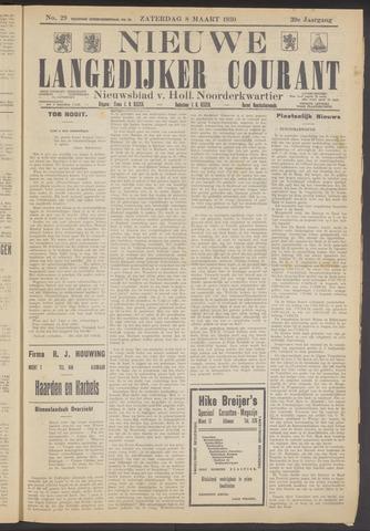 Nieuwe Langedijker Courant 1930-03-08
