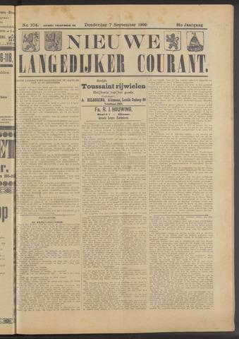 Nieuwe Langedijker Courant 1922-09-07