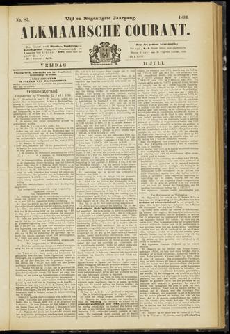 Alkmaarsche Courant 1893-07-14
