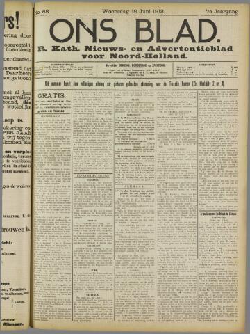 Ons Blad : katholiek nieuwsblad voor N-H 1913-06-18