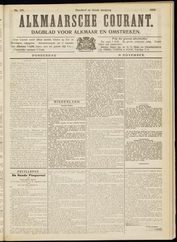 Alkmaarsche Courant 1908-11-19