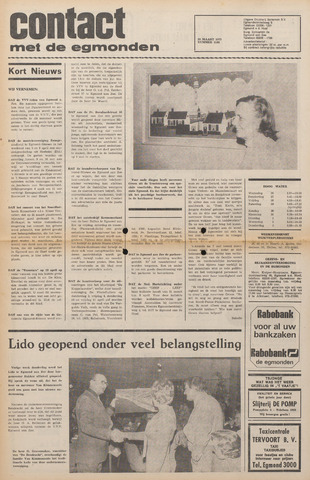 Contact met de Egmonden 1975-03-26
