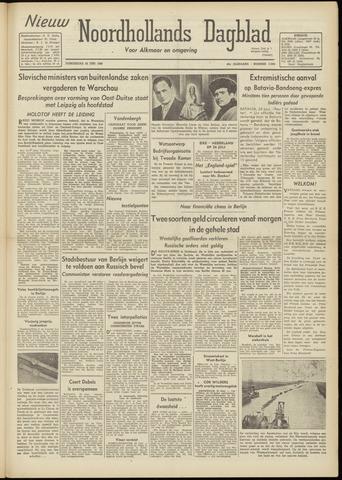 Nieuw Noordhollandsch Dagblad : voor Alkmaar en omgeving 1948-06-24