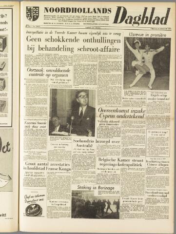 Noordhollands Dagblad : dagblad voor Alkmaar en omgeving 1959-02-20