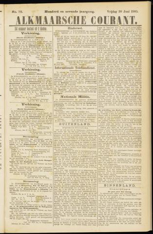 Alkmaarsche Courant 1905-06-30