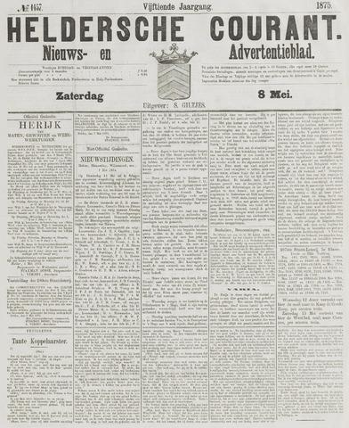 Heldersche Courant 1875-05-08