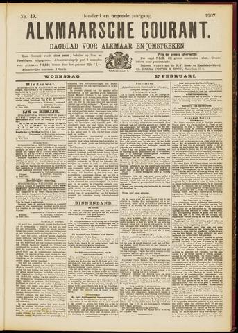 Alkmaarsche Courant 1907-02-27