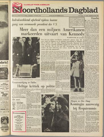 Noordhollands Dagblad : dagblad voor Alkmaar en omgeving 1963-11-26