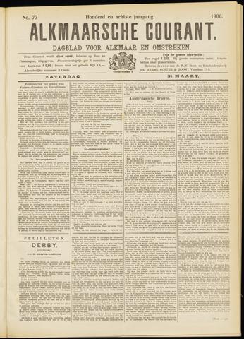Alkmaarsche Courant 1906-03-31
