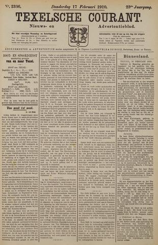 Texelsche Courant 1910-02-17
