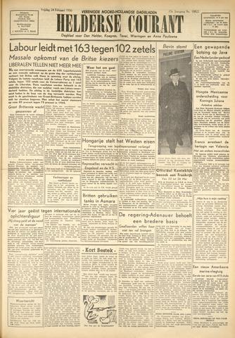 Heldersche Courant 1950-02-24
