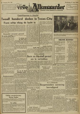 De Vrije Alkmaarder 1947-04-17