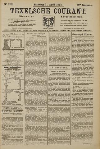 Texelsche Courant 1923-04-21