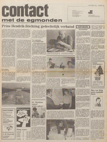 Contact met de Egmonden 1980-12-10