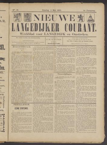Nieuwe Langedijker Courant 1895-05-05