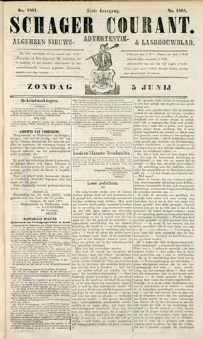 Schager Courant 1881-06-05