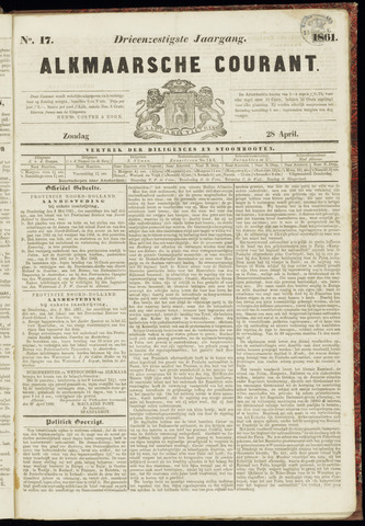 Alkmaarsche Courant 1861-04-28