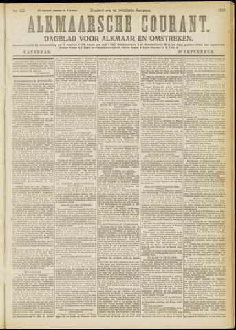 Alkmaarsche Courant 1919-09-20