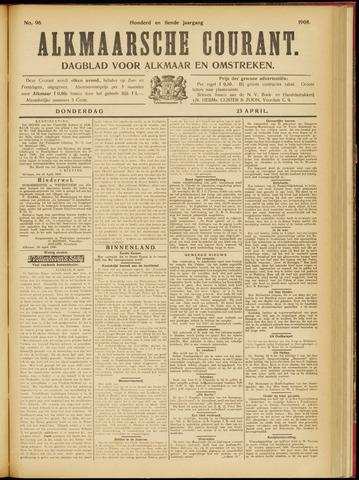 Alkmaarsche Courant 1908-04-23