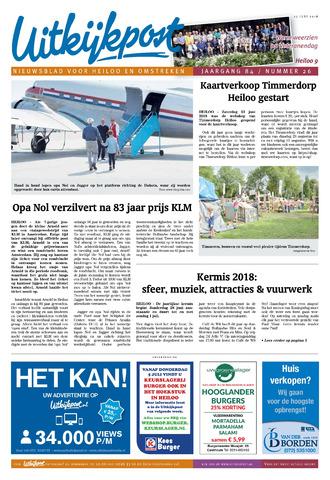 Uitkijkpost : nieuwsblad voor Heiloo e.o. 2018-06-27