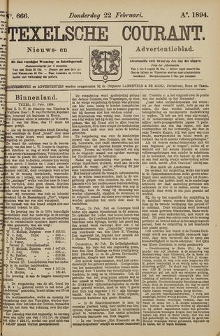 Texelsche Courant 1894-02-22