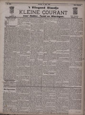 Vliegend blaadje : nieuws- en advertentiebode voor Den Helder 1900-04-21