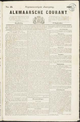 Alkmaarsche Courant 1867-09-19
