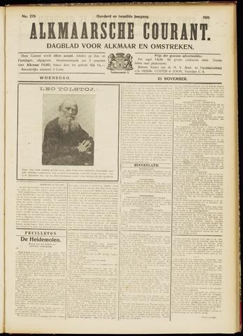 Alkmaarsche Courant 1910-11-23