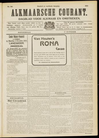 Alkmaarsche Courant 1912-10-17