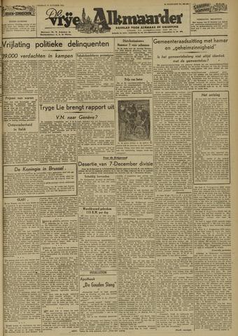 De Vrije Alkmaarder 1946-10-25