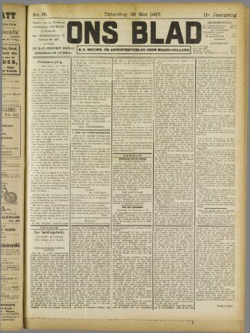 Ons Blad : katholiek nieuwsblad voor N-H 1917-05-26