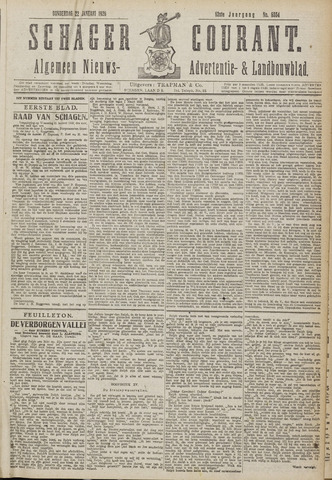 Schager Courant 1920-01-22