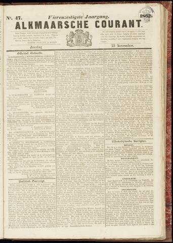 Alkmaarsche Courant 1862-11-23