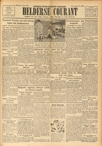 Heldersche Courant 1949-06-13