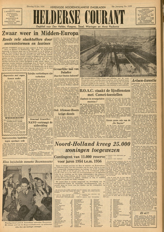 Heldersche Courant 1954-01-12
