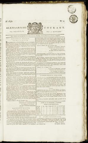 Alkmaarsche Courant 1836-01-11