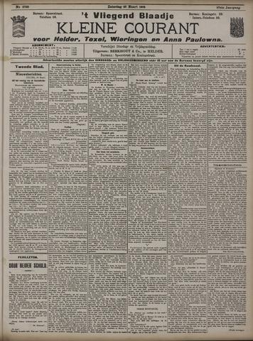 Vliegend blaadje : nieuws- en advertentiebode voor Den Helder 1909-03-27