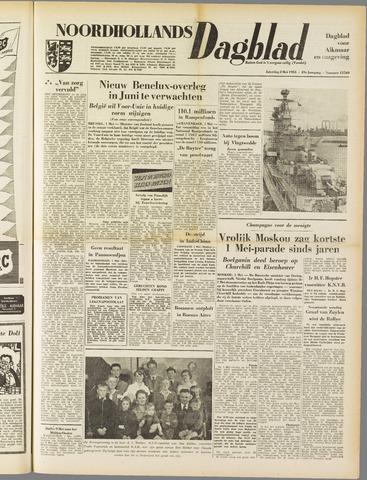 Noordhollands Dagblad : dagblad voor Alkmaar en omgeving 1953-05-02