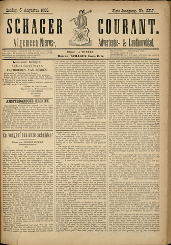 Schager Courant 1888-08-05